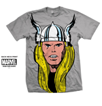 Marvel Comics Men's Tee: Thor Big Head
