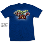 Marvel Comics Men's Tee: Avengers Character Fly