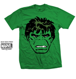 Marvel Comics Men's Tee: Hulk Big Head