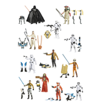 Star Wars Action Figures 10 cm 2015 Snow/Desert Wave 2 Revision 2 Assortment (12)