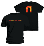 Nine Inch Nails Men's Back Print Tee: Help Me