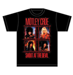 Motley Crue Men's Tee: Shout Wire