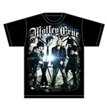 Motley Crue Men's Tee: Group Photo