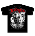Motley Crue Men's Tee: Greatest Hits Band Shot