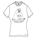 Moomins Women's Tee: Wanna Dance?