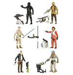 Star Wars Action Figures 10 cm 2016 Jungle/Space Wave 1 Assortment (12)