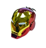 Marvel Comics Metal Keychain Iron Man Helmet