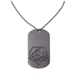 Metal Gear Dog Tag Necklace 190913