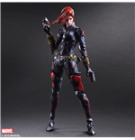 Marvel Comics Variant Play Arts Kai Action Figure Black Widow 26 cm