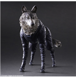 Metal Gear Solid V The Phantom Pain Play Arts Kai Action Figure D-Dog 11 cm