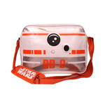 STAR WARS VII The Force Awakens BB-8 Astromech Droid Messenger Bag, White/Orange
