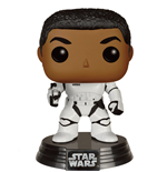 Star Wars Episode VII POP! Vinyl Bobble-Head Stormtrooper Finn With Blaster 9 cm