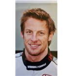 F1 Memorabilia Jenson Button Photo - 2006
