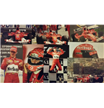 Superb Set of  F1 Photos including Schumacher, Senna and Alonso