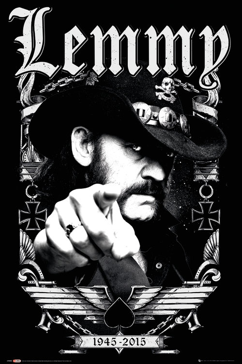 Lemmy Dates Maxi Poster