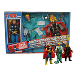 Marvel Retro Action Figure Thor Limited Edition Collector Set 20 cm