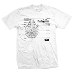 Star Wars T-Shirt Millennium Falcon