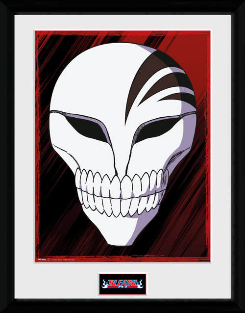 Bleach Mask Framed Collector Print