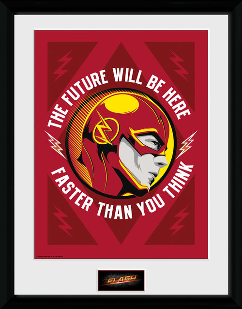 The Flash The Future Framed Collector Print