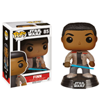 Star Wars Episode VII POP! Vinyl Bobble-Head Finn with Lightsaber 9 cm