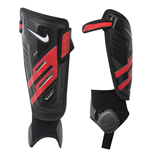 Nike T90 Protegga Shield Shin Guard (Black-Red)