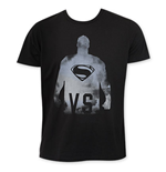 Junk Food Black BATMAN V SUPERMAN VS Tee Shirt