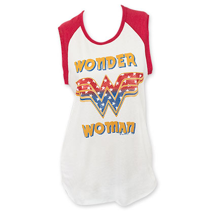 Junk Food WONDER WOMAN Muscle Tank