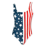 Stars And Stripes USA One Piece Swimsuit