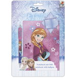 Frozen Notebook with Pen Anna