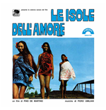 Vynil Piero Umiliani - Le Isole Dell'amore 180gr (Ltd.Ed.Transparent Blue Vinyl)