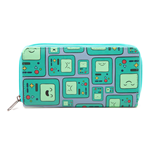 ADVENTURE TIME Unisex Beemo BMO Video Games Console All-Over Pattern Purse Wallet, One Size, Multi-Colour