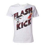 CAPCOM Street Fighter IV Adult Male Guile's Flash Kick T-Shirt, Extra Large, White