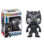 Captain America Civil War POP! Vinyl Bobble-Head Black Panther 10 cm