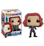 Captain America Civil War POP! Vinyl Bobble-Head Black Widow 10 cm
