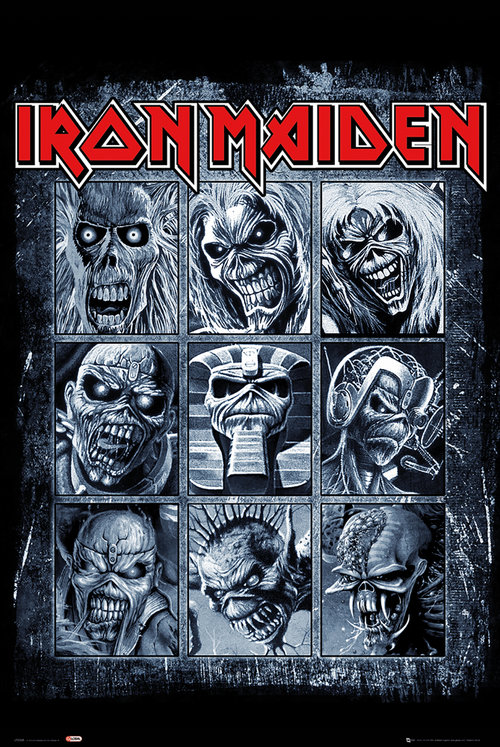 Iron Maiden Eddies Maxi Poster