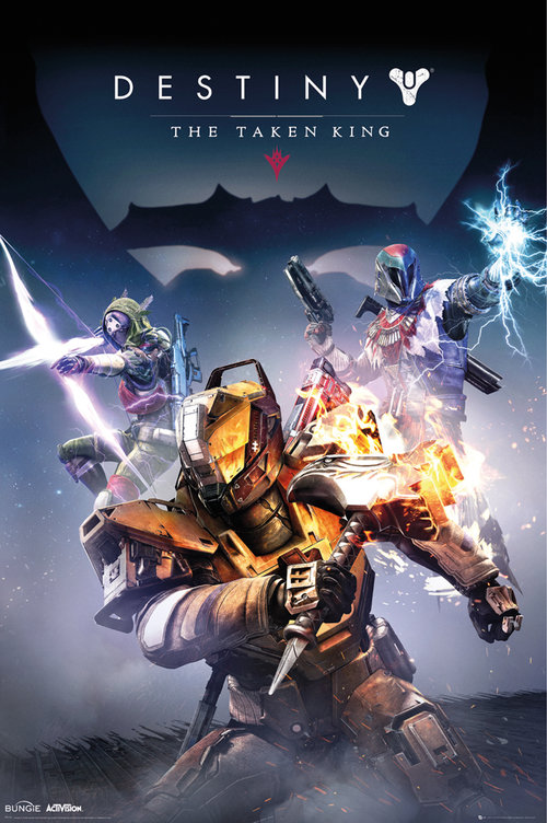 Destiny Taken King Maxi Poster