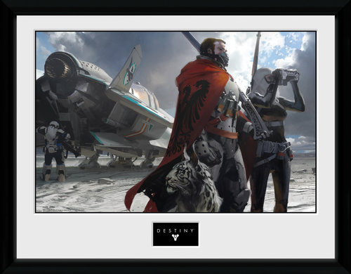 Destiny Guardians Framed Collector Print