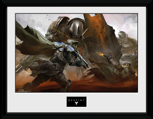 Destiny Cabal Battle Framed Collector Print