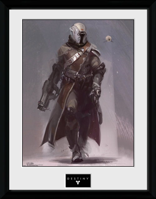 Destiny Warlock Framed Collector Print