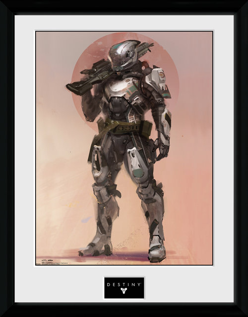 Destiny Titan Framed Collector Print