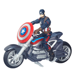 Captain America Civil War Marvel Legends Action Figure with Vehicle 2016 Captain America 10 cm