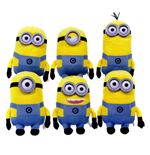 Minions Plush Figures Plastic Eyes 28 cm Assortment (6)