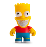 Simpsons Vinyl Figure Bart Grin by Ron English 8 cm