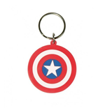 Marvel Comics - Captain America Shield Keychain