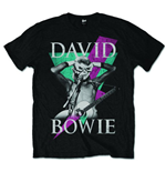 David Bowie Men's Tee: Thunder