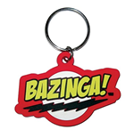 Big Bang Theory Keychain - Bazinga