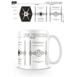 Star Wars Mug Tie Fighter Sketch