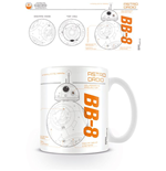 Star Wars Episode VII Mug BB-8 Sketch