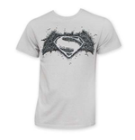 BATMAN V SUPERMAN Logo On Logo Tee Shirt