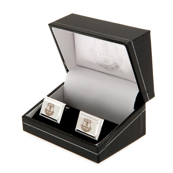 Everton F.C. Silver Plated Cufflinks